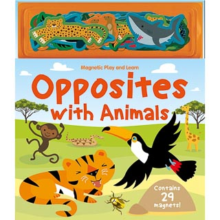 Magnetic Play Book - Opposites