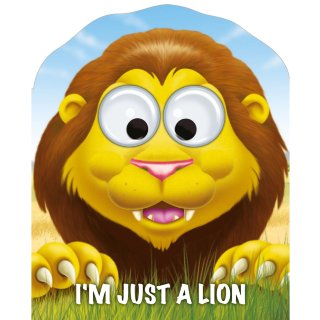 Googley Eyes Board Book - I'm Just a Lion