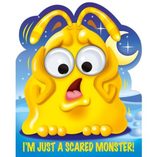 Googley Eyes Board Book - Scared Monster