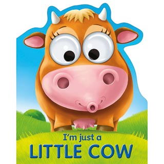 Googley Eyes Board Book - Little Cow
