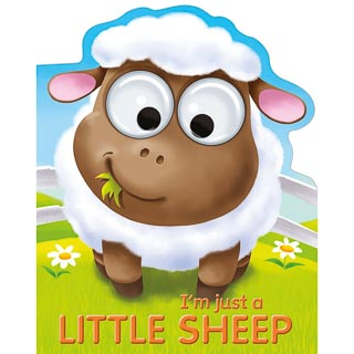 Googley Eyes Board Book - Little Sheep
