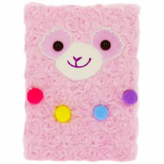 Happy Zoo Plush Notebook - Llama