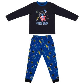 Toddler Cotton Pyjamas - Space Dude