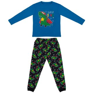 Toddler Cotton Pyjamas - Super Dino