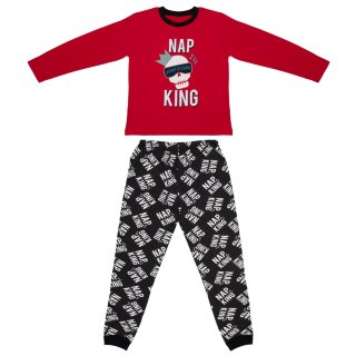 Younger Kids Cotton Pyjamas - Nap King