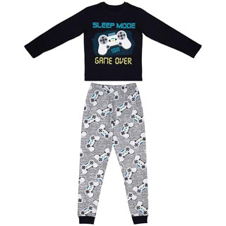 Older Kids Cotton Pyjamas - Sleep Mode