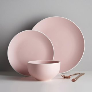 Blush Matte Dinner Set 12pc