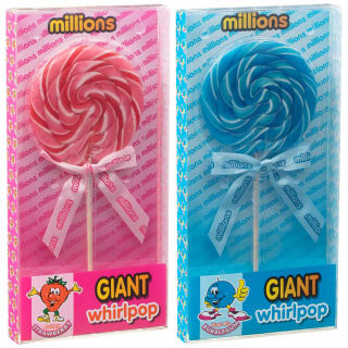 Millions Giant Whirlpop - Strawberry