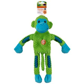 Monkey Rope Dog Toy - Green