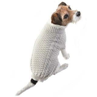 Doggy Jumper - X-Small - Small - Cable Knit