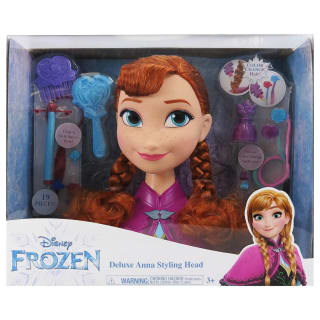 Frozen Deluxe Styling Head Doll - Anna