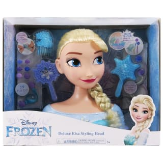 Frozen Deluxe Styling Head Doll - Elsa