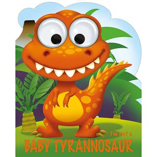 Googley Eyes Christmas Book - Baby Tyrannosaur