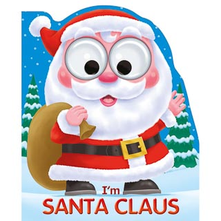 Googley Eyes Christmas Book - Santa Claus