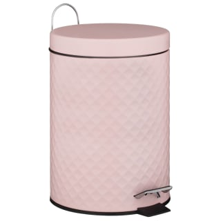 Powder Coated Blush Textured Bin