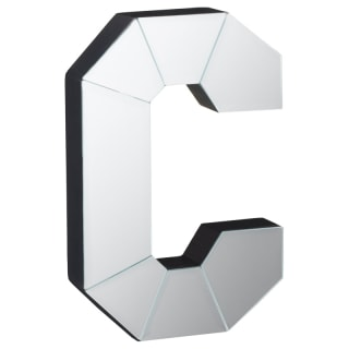 Mirrored Letter - C