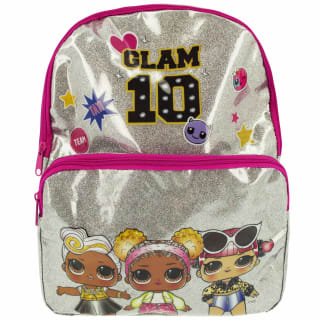 L.O.L. Surprise! Glitter Backpack - Silver