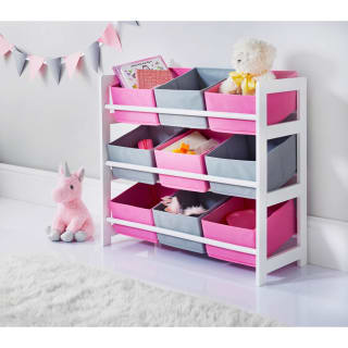 Mobel 9 Tub Storage Drawers - Pink