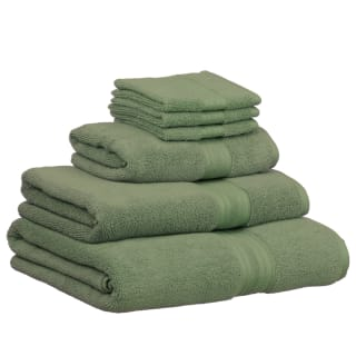 Signature Zero Twist Hand Towel - Green
