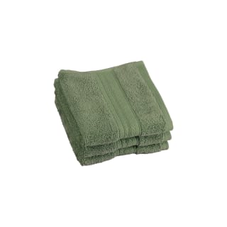 Signature Zero Twist Face Cloth - Green