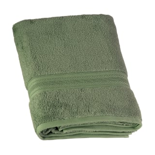 Signature Zero Twist Bath Towel - Green