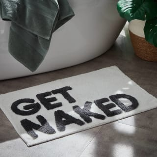 Get Naked Tufted Bath Mat