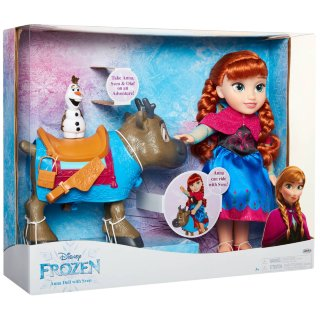 Frozen Anna Doll with Sven & Olaf