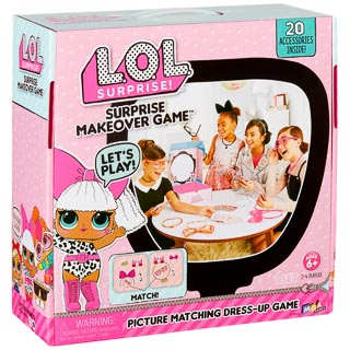 L.O.L. Surprise! Makeover Game