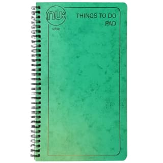 NU:Vibe Things To Do Bumper 100 sheet Pad - Green
