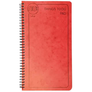 NU:Vibe Things To Do Bumper 100 sheet Pad - Red