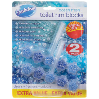Toilet Rim Blocks 2pk - Ocean Fresh
