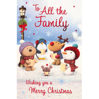 To all the Family - Christmas Card
