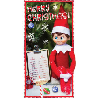 Elf on the Shelf Merry Christmas - Christmas Card