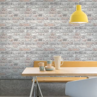 Pastel Brick Wallpaper