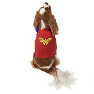 DC Comics Dog Fancy Dress Costume - Wonder Woman