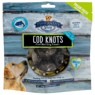 Fisherman's Dog Treats 100g - Cod Knots