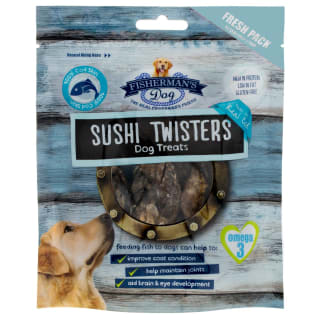 Fisherman's Dog Treats 100g - Sushi Twisters