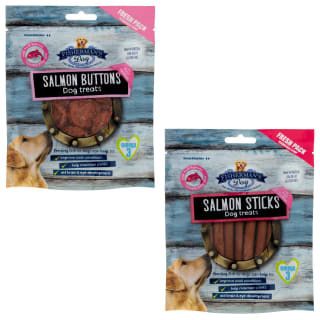 Fisherman's Dog Treats 100g - Salmon Sticks