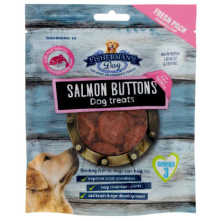 Fisherman's Dog Treats 100g - Salmon Buttons