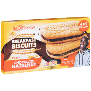 Mo Energy Breakfast Biscuits Chocolate Hazelnut 200g