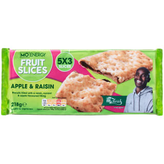 Mo Energy Fruit Slices Apple & Raisin 218g