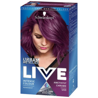 Schwarzkopf Urban Metallics Live Colour - Amethyst Chrome