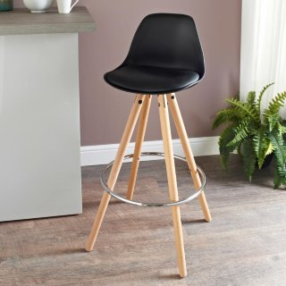 Bjorn Bar Stool - Black