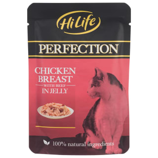 HiLife Perfection Chicken & Beef in Jelly 70g