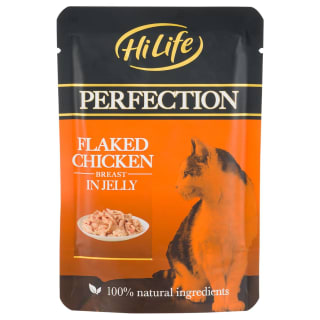 HiLife Perfection Flaked Chicken in Jelly 70g