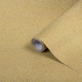 D-C-Fix Self-Adhesive Film 67.5cm x 2.m - Gold Glitter