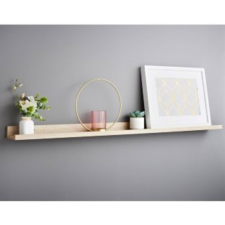 Lokken Photo Shelf 120cm - Oak