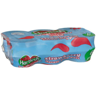 Hartley's Jelly 6pk - Strawberry
