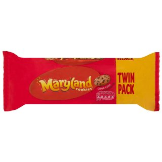 Maryland Choc Chip Cookies Twin Pack 230g