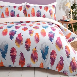 Feather Single Duvet Set